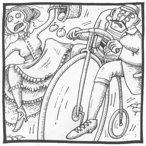 1897 neopatrna jizda na kole